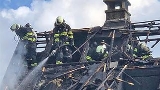 In Abtwil brannte ein Wohnhaus