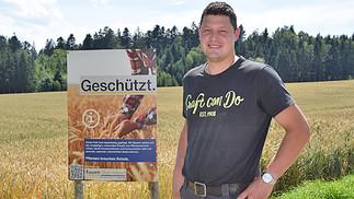 Plakataktion für Pflanzenschutz