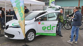 Sins hat neu ein E-Carsharing