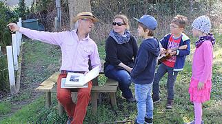 Ex-Lehrer lädt Jung und Alt zum Gärtnern ein