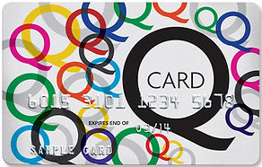 Qcard accepted 12 months interest free with prior approval