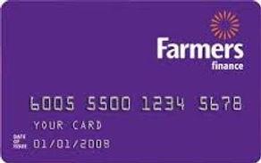 Farmers Cards accepted