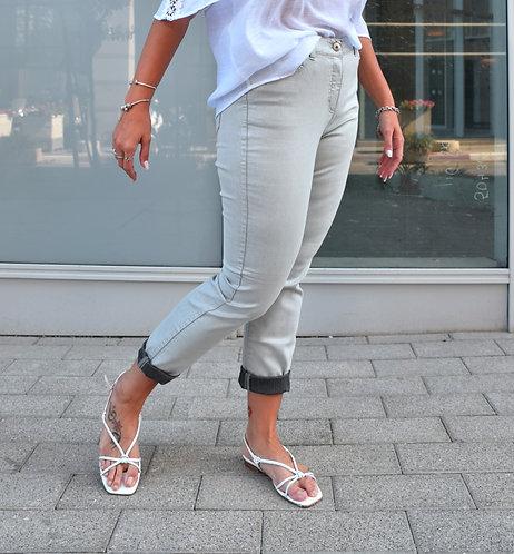 מכנס שייני סילבר דמוי ג'ינס