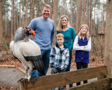 The Raptor Center is a family adventure for Brian Hughes