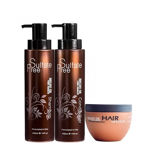 Argan Oil From Morocco Hair Care Set 400ml With Mask