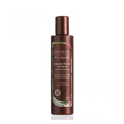 Brazilian Secrets Hair Pro Keratin Sublime Touch Leave-In 200ml