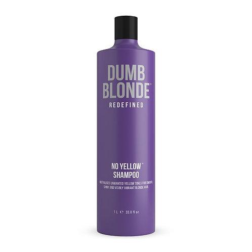 Dumb Blonde No Yellow Shampoo 1L