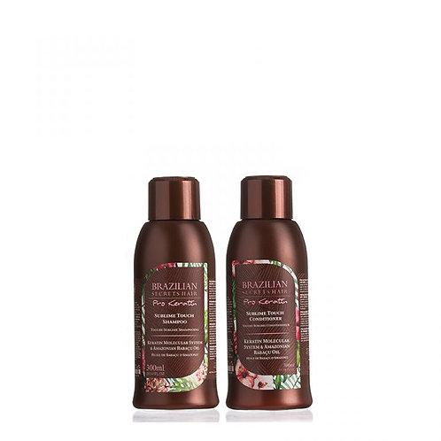Brazilian Secrets Hair Pro Keratin Sublime Touch Home Care 600ml Pack