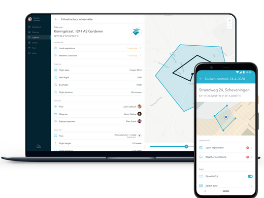 AirHub launches Android App and Web Dashboard at Amsterdam Drone Week