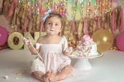 Richmond Hill Cake Smash Photography