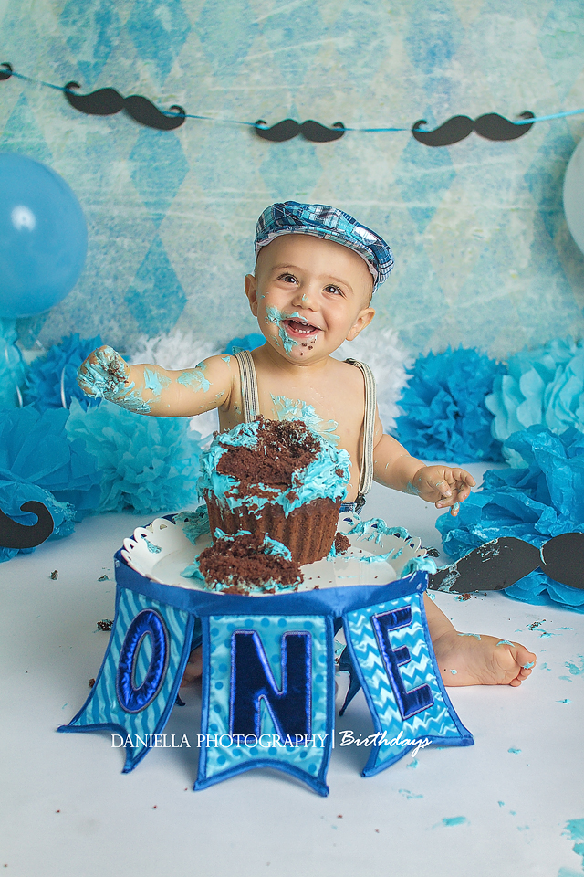 york region Cake Smash Photographer