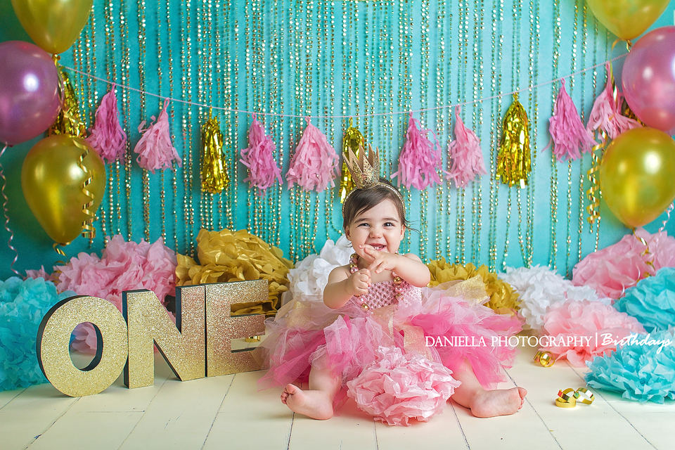Vaughan Cake Smash Photography