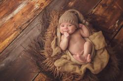 richmond hill newborn photographer