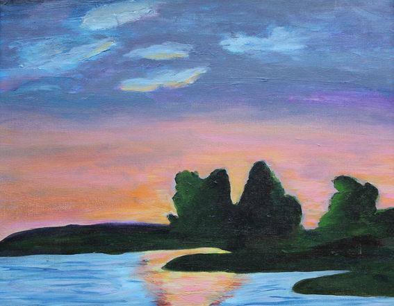 Calming Playful Sunset
