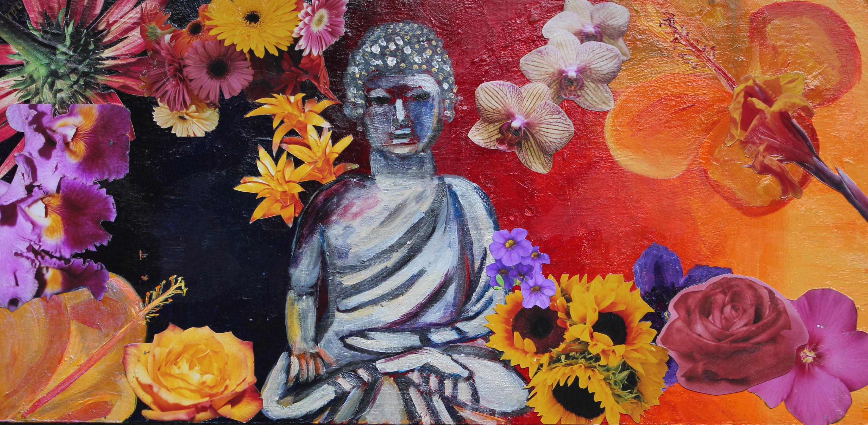 Floral Buddah