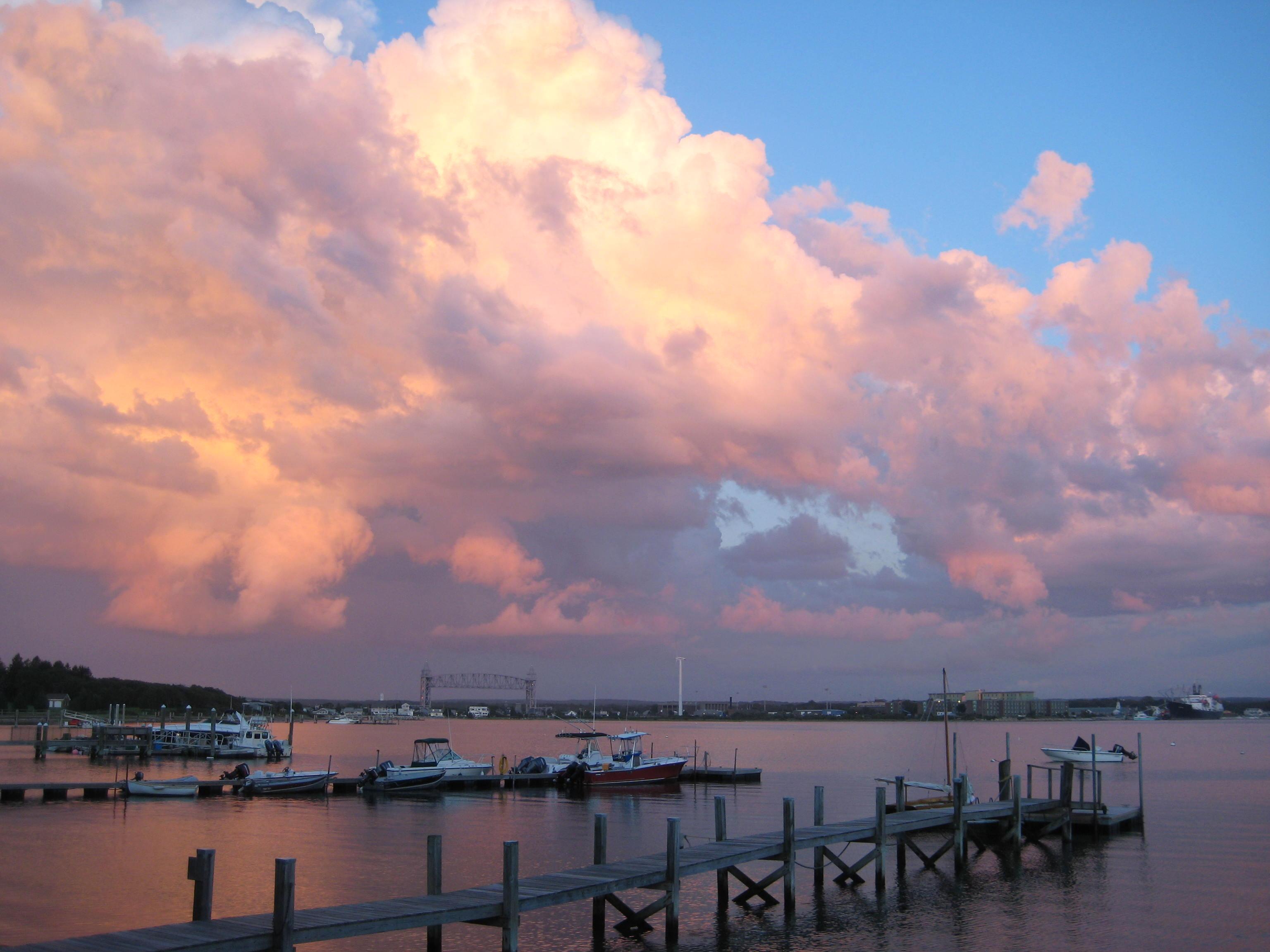 Cape Cod: Cotton Candy Clouds