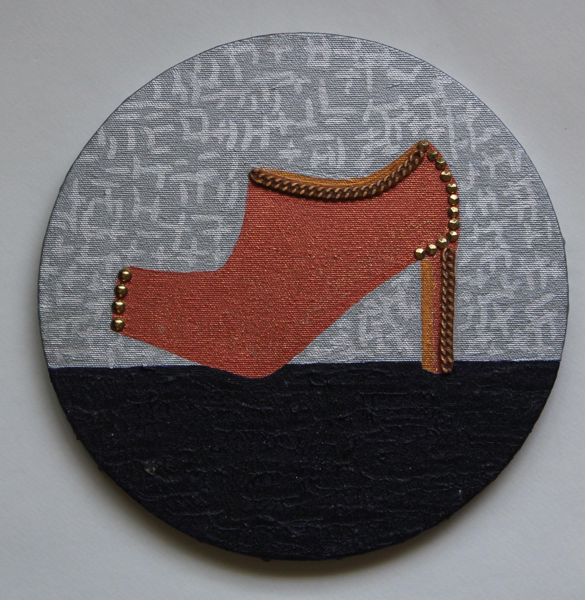 toe studded ankel boot