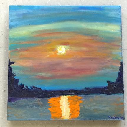 Tilghman sunset
