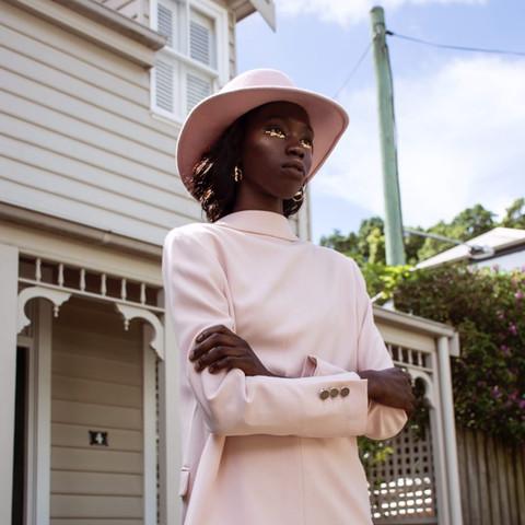 Model: Awar Malek Stylist & Photographer: Rebecca Alonzo