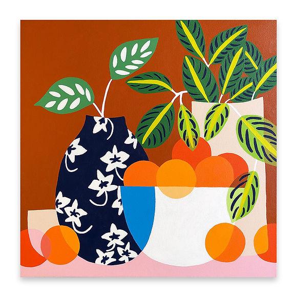 Naranjas y La Maranta