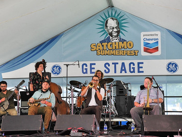 Live at Satchmo Summerfest, 2019