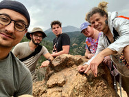 Hiking on our 2019 Colorado Tour