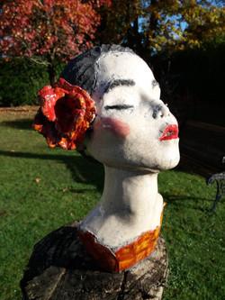 Fleur rouge - indisponible