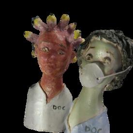 Virus et corona