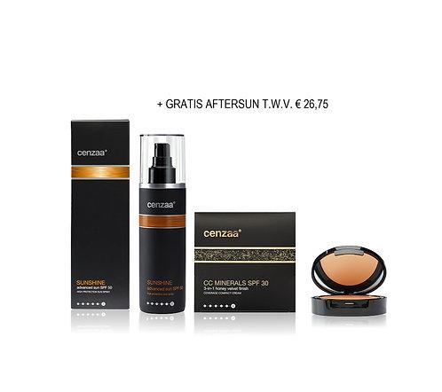 Advanced Sun SPF 50 + CC Cream = GRATIS AFTERSUN t.w.v. €26,75