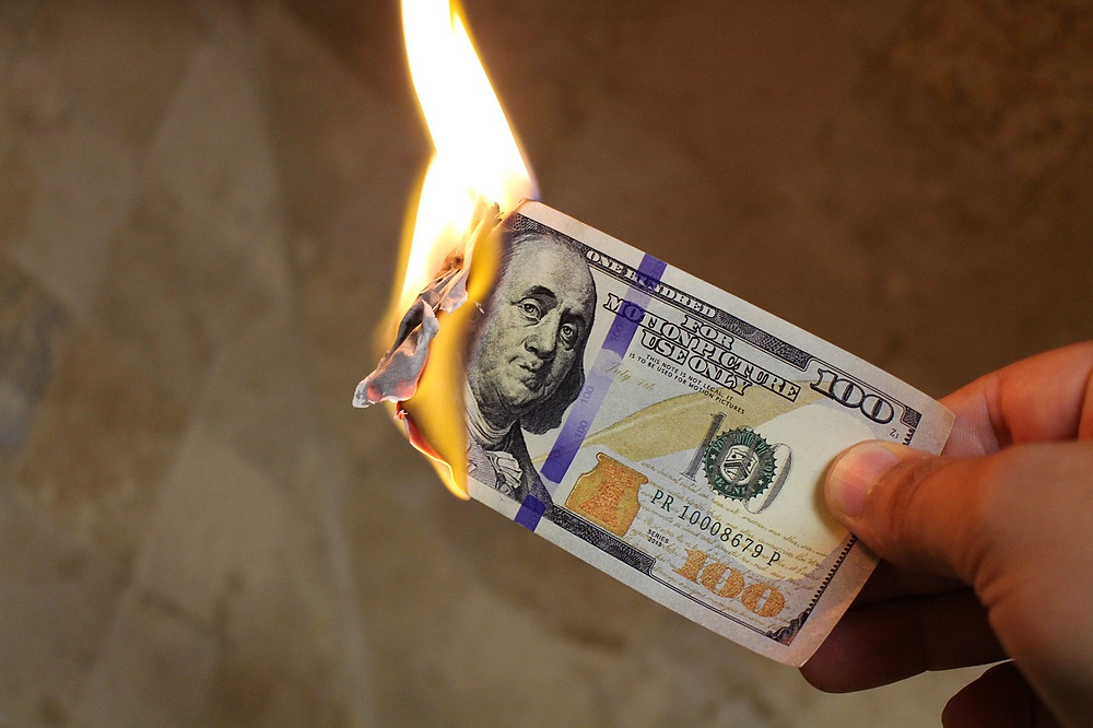 Applying to college without a long term plan is like burning money.
