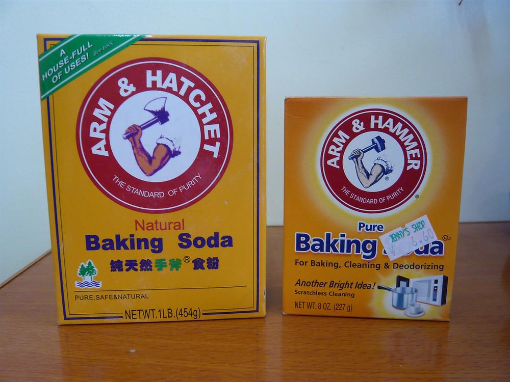 Arm & Hammer Baking Soda: Real and Knockoff