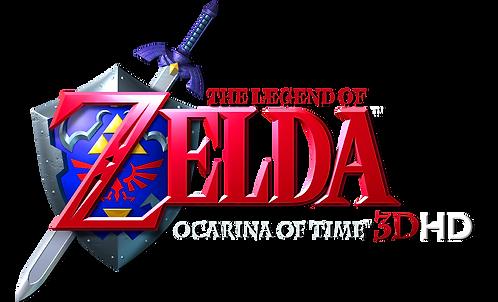 Zelda_Ocarina_Of_Time_3D_HD_Logo_PNG_low