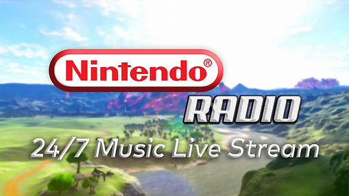 Nintendo Radio 24-7 music live stream YT