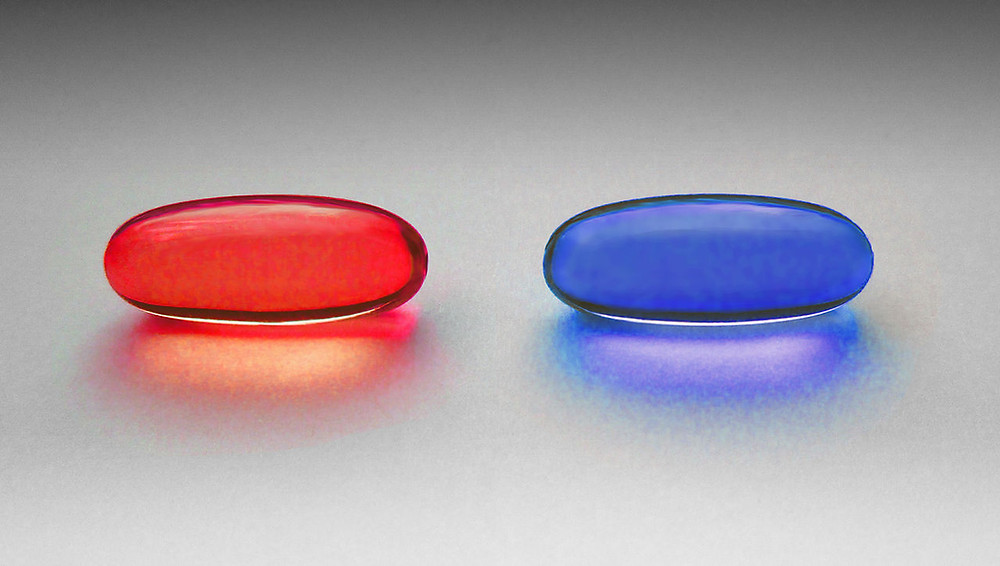 "Deciding on a major can feel like choosing between the red pill and the blue pill in ""The Matrix"""