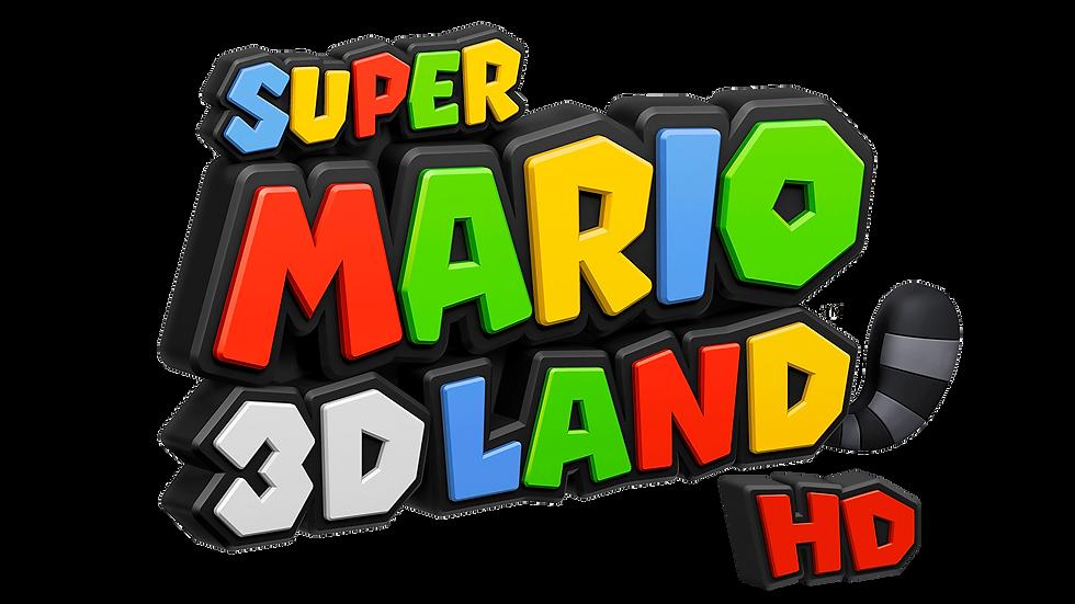super mario 3d land logo png 4k NEW V4 1