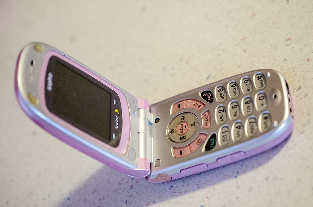 Flip phone: Outdated technology like traditional career paths