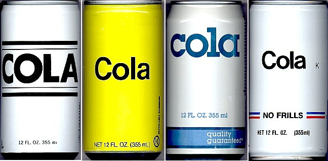 Just like how generic brands of cola don't stand out from each other, the same can be said for certain strategies in applying to college.