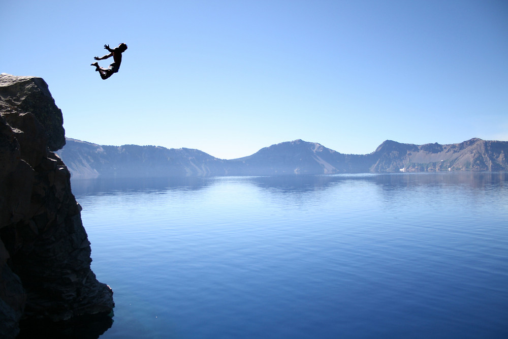 Dive in quickly and completely. Don't overthink it.