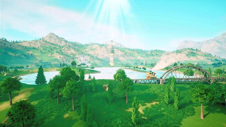 Zelda Spirit Tracks 4K Unreal Engine Demo Screenshot 1 by Henriko Magnifico JPG lower qual