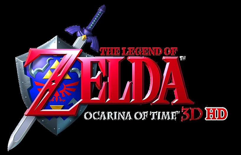 Zelda_Ocarina_Of_Time_3D_HD_Logo_PNG_v2