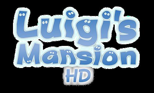 luigis mansion hd texture pack logo HD.p