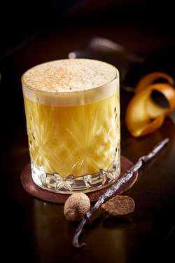 Alkoholholdig appelsindrikk-matfoto