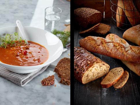 Gulasj-brødbakst-ferske brød