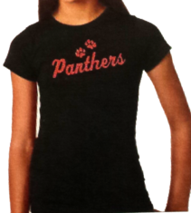 YOUTH Glitter Panther T-Shirt