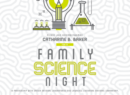 Family Science Night at Wells Middle School