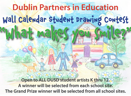 Drawing Contest | DPIE's Art Calendar What Makes You Smile?