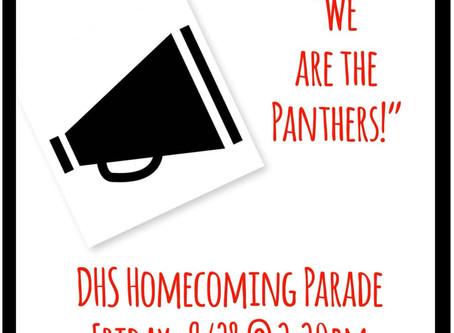 DHS Homecoming Parade 9/28