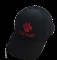 Panthers Black Baseball Cap