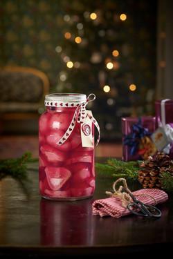 Spiselige julegaver syltet rødløk