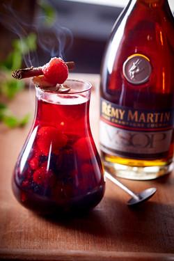 Rémy Martin drink-matfotograf